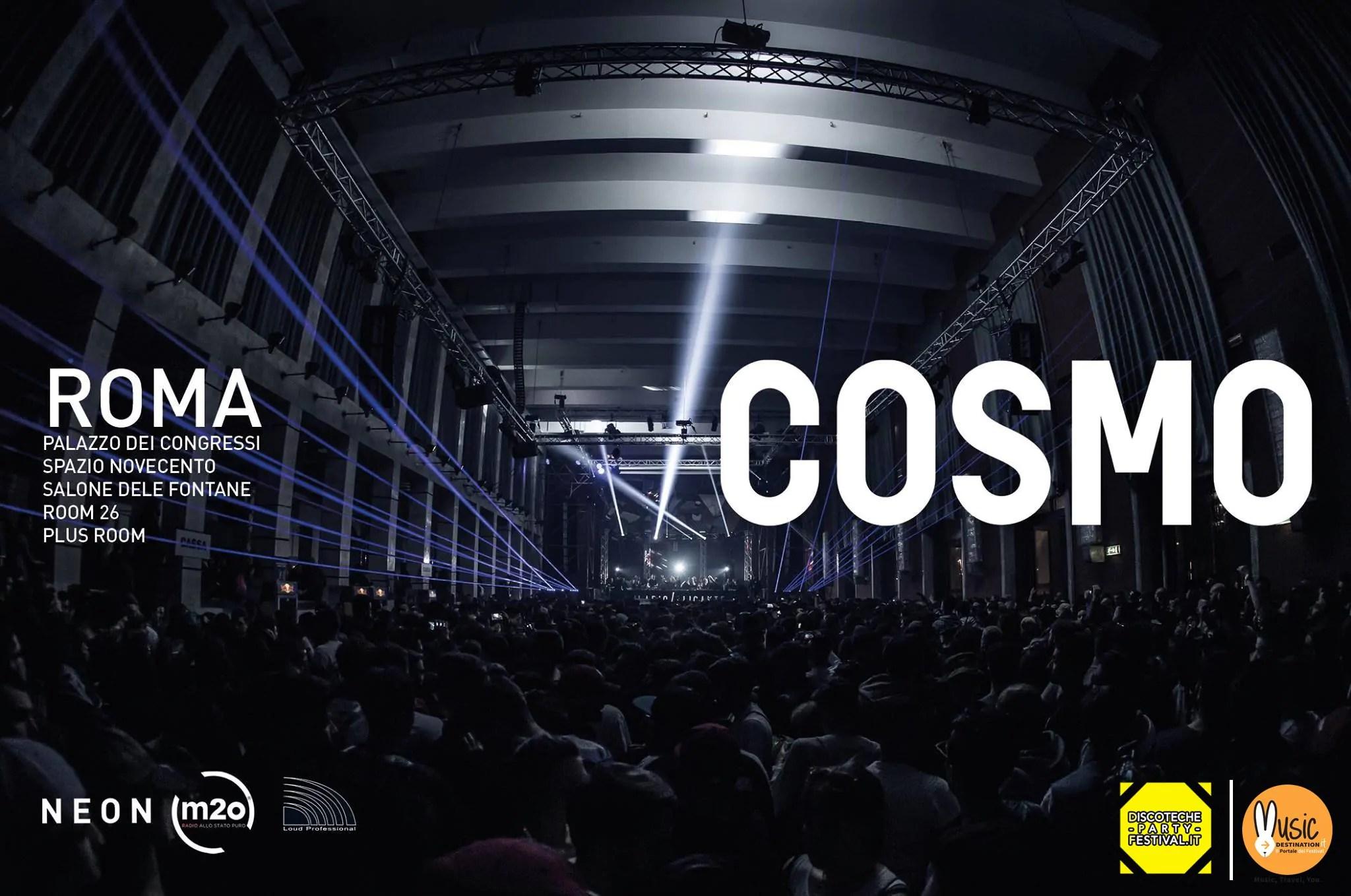 31 12 2018 COSMO FESTIVAL 2019 – CAPODANNO a ROMA EUR | Prezzi Ticket Tavoli Pacchetti Hotel