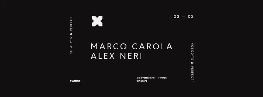 Marco Carola al Tenax di Firenze il 03 Febbraio 2018 + Prezzi Ticket in Prevendita Biglietti Tavoli Liste Pacchetti Hotel