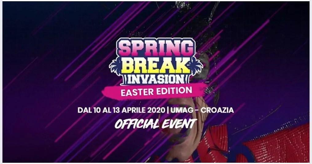 Spring Break Invasion Croazia 2020, Speciale Pasqua 10 – 13 Aprile – Umag