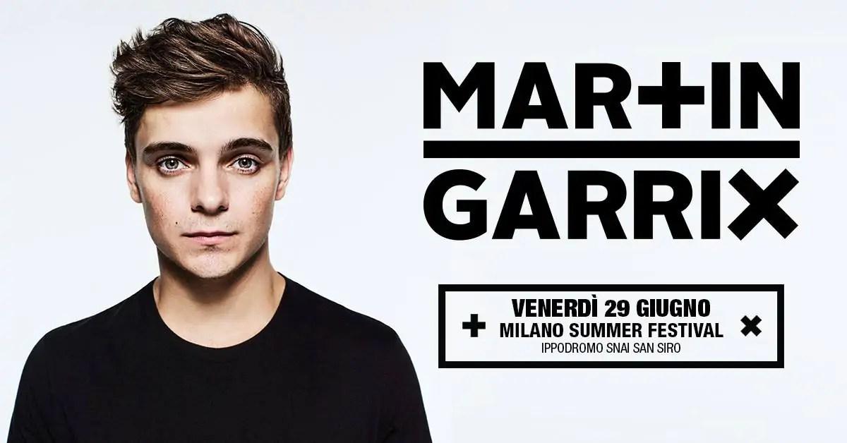 Martin Garrix Milano 2018