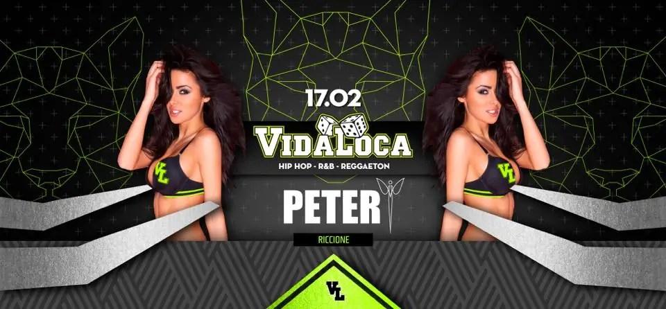 Peter Pan Riccione – Vida Loca – 17 Febbraio 2018 | Ticket Tavoli Pacchetti Hotel