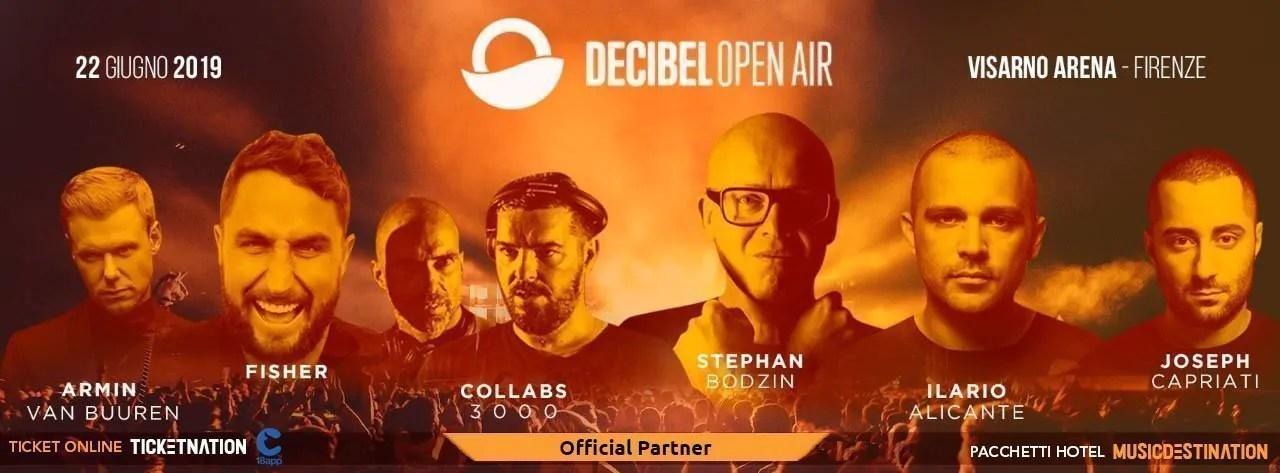 Decibel Open Air 2019 – Firenze – Visarno Arena – 22 e 23 Giugno –  Ticket Pacchetti Hotel