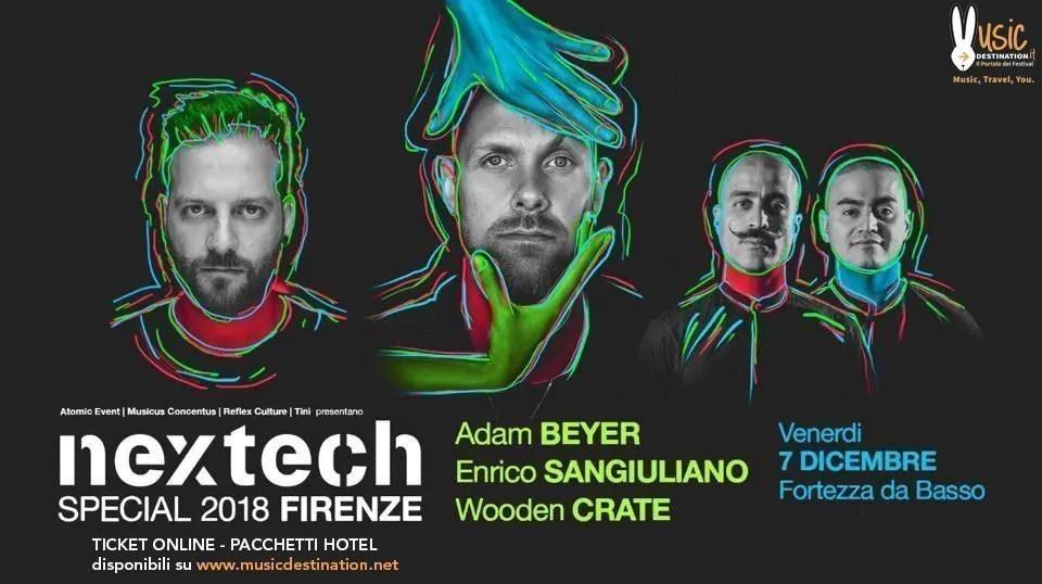 NEXTECH Firenze 08 Dicembre 2018 – Fortezza Da Basso – Ticket e Pacchetti Hotel