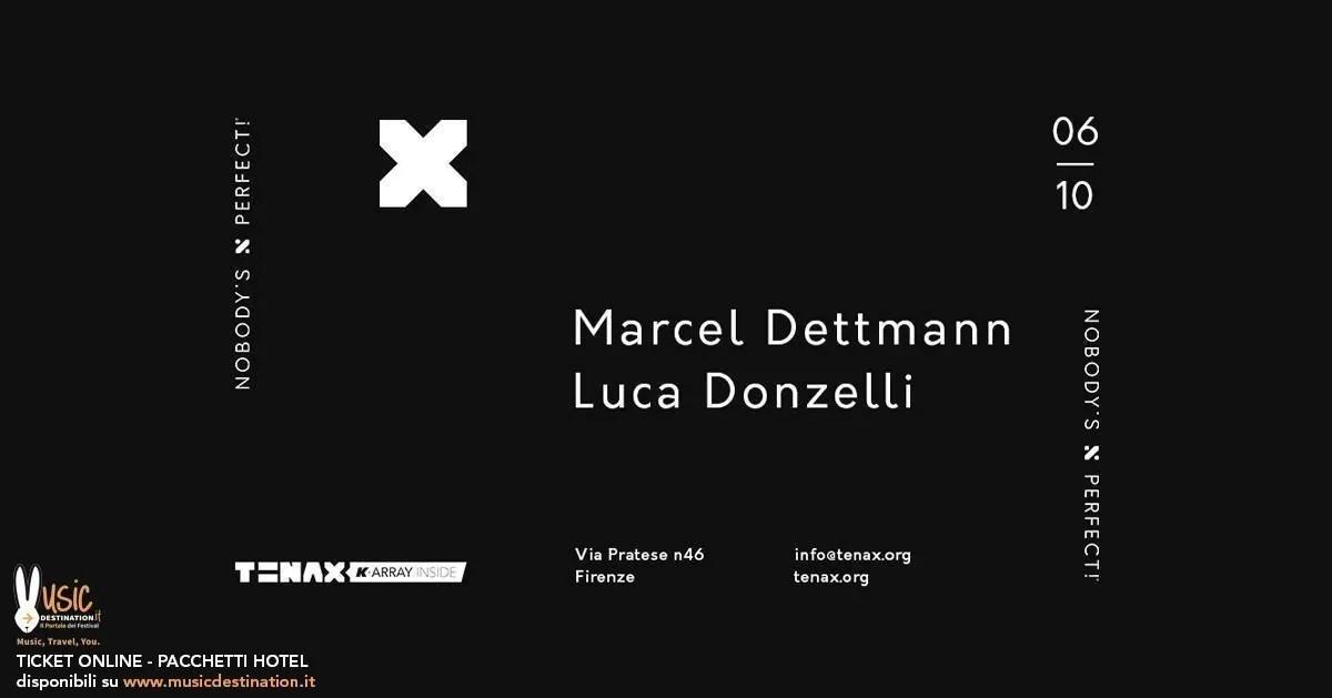 Marcel Dettmann Tenax di Firenze 06 Ottobre 2018 + Prezzi Ticket in Prevendita Biglietti Tavoli Liste Pacchetti Hotel
