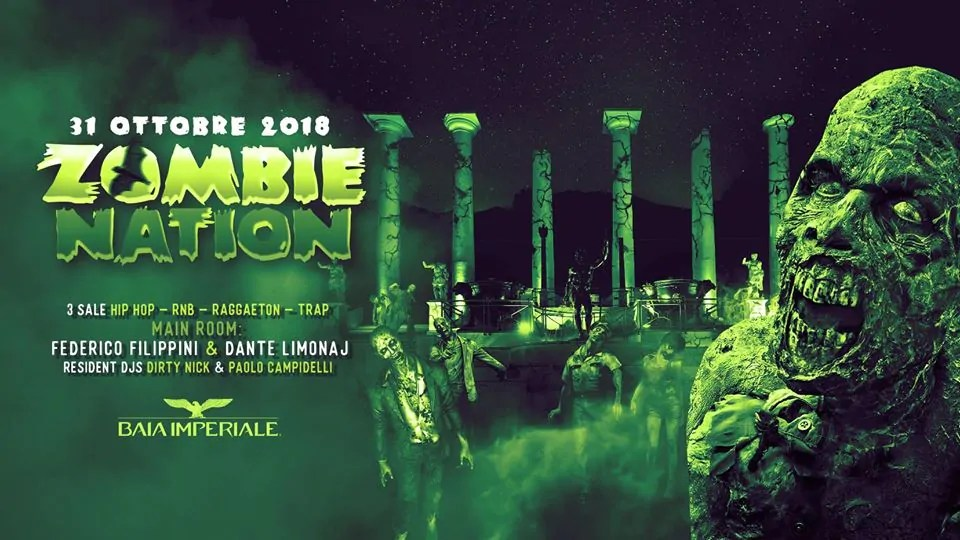 Halloween Baia Imperiale 31 10 2018 Zombie Nation
