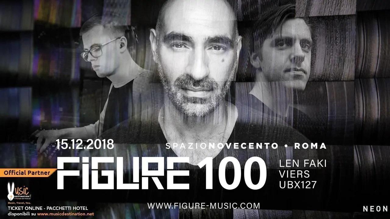 Len Faki at Spazio Novecento Roma – Sabato 15 Dicembre 2018 | Ticket/Biglietti/Prevendite Tavoli Pacchetti hotel Prevendite