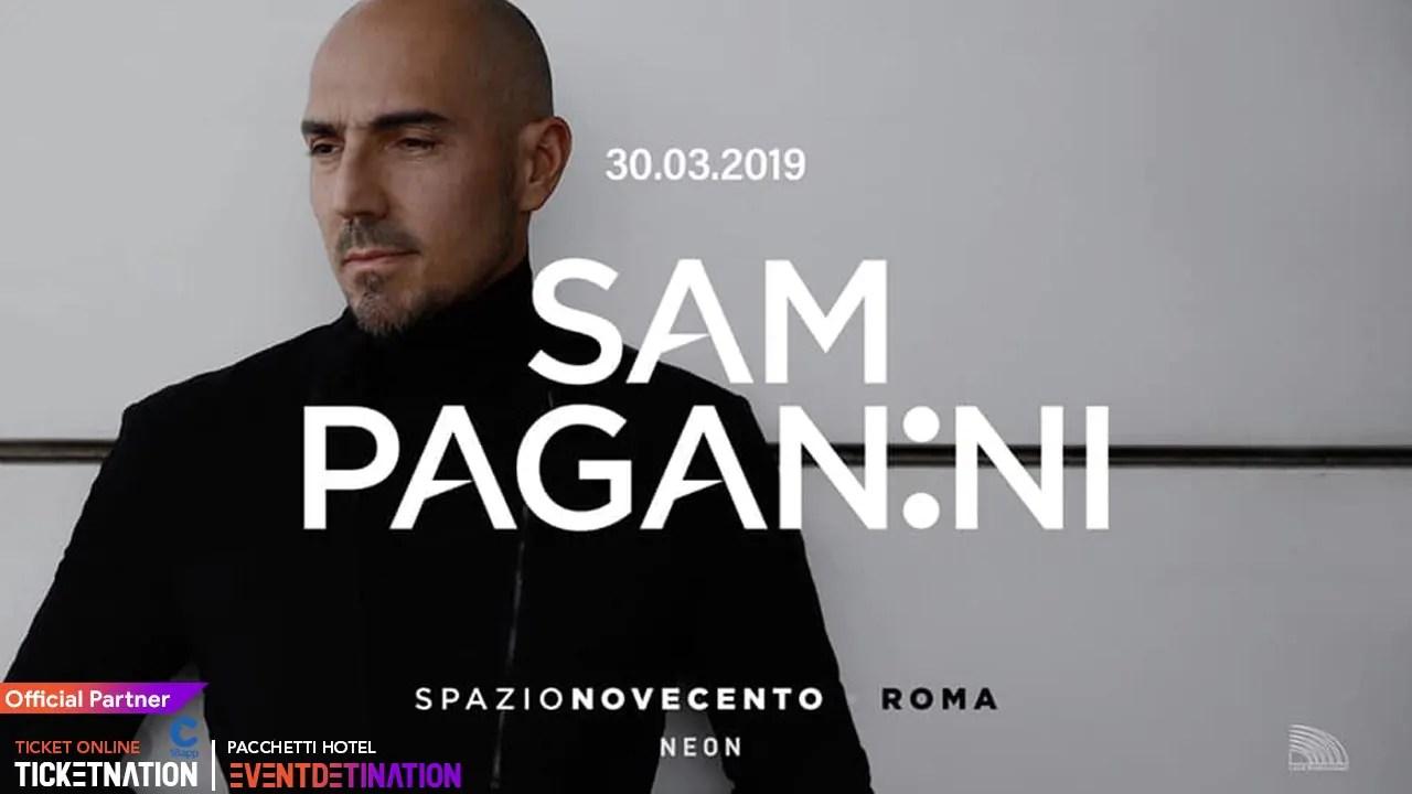 Sam Paganini Spazio Novecento 30 Marzo 2019