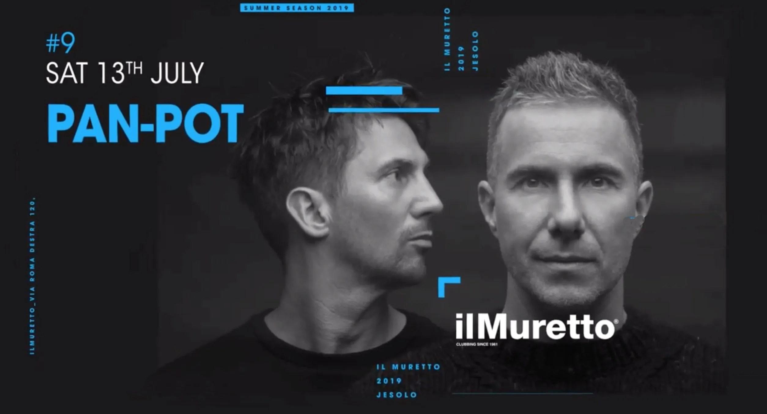 Pan Pot Muretto Jesolo 20 Luglio 2019