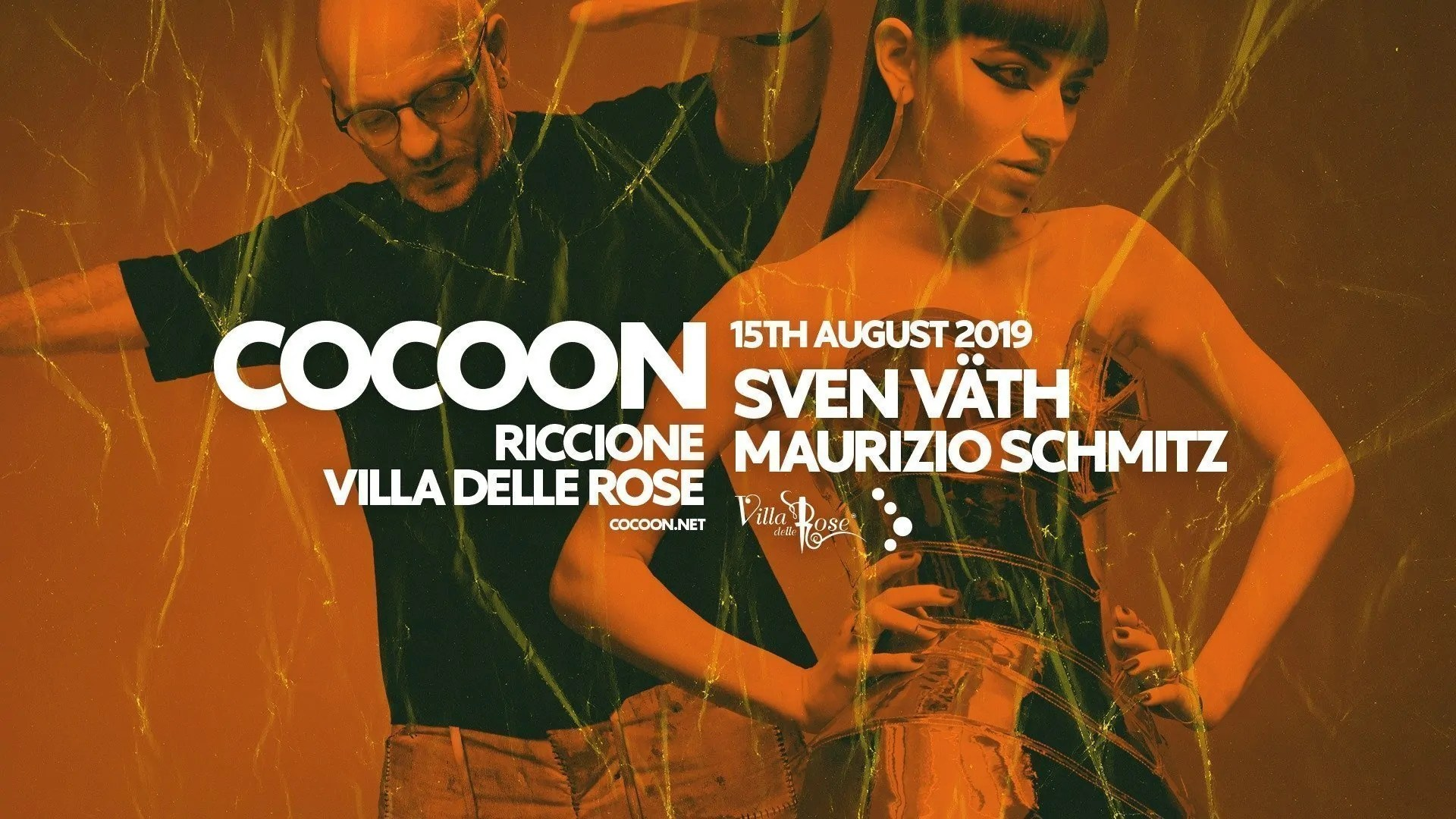 SVEN VATH Villa delle Rose Cocoon Ferragosto 15 Agosto 2019 + Prezzi Ticket/Biglietti/Prevendite 18APP Tavoli Pacchetti hotel