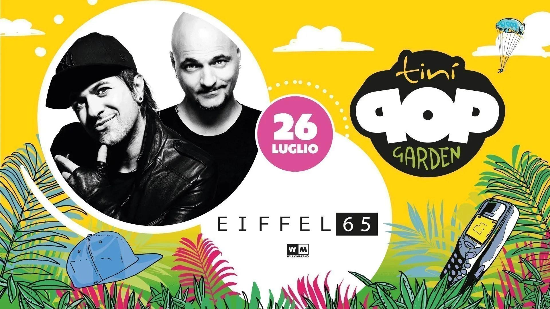 Eiffel 65 al Tinì Soundgarden Cecina – Venerdì 26 Luglio 2019 | Ticket/Biglietti/Prevendite 18APP Tavoli Pacchetti hotel Prevendite