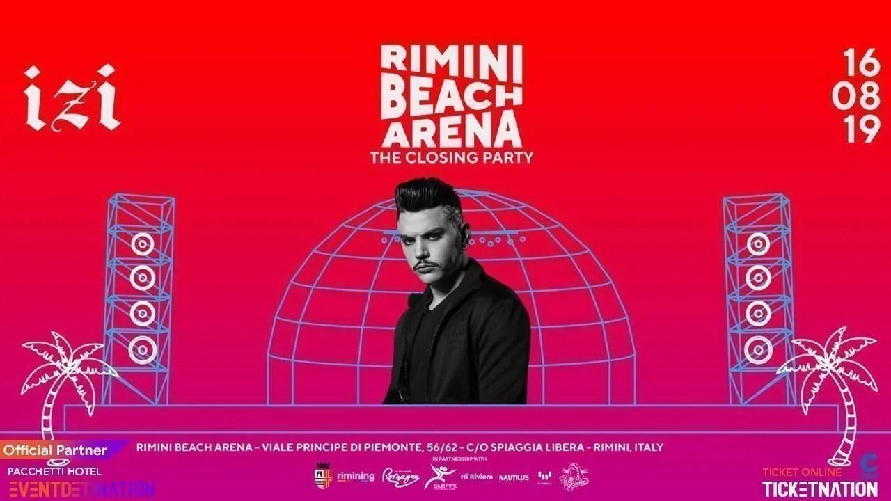 IZI RIMINI Beach Arena 16 08 2019