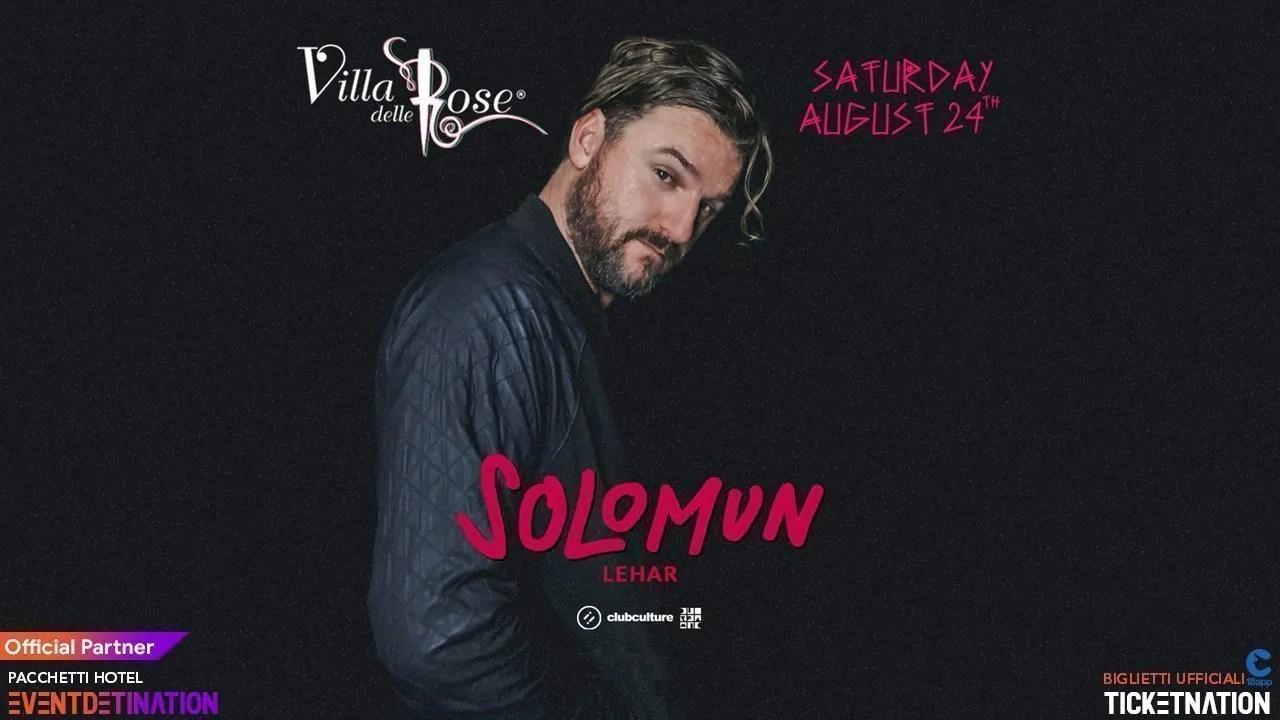 Solomun Villa delle Rose Sabato 24 08 2019