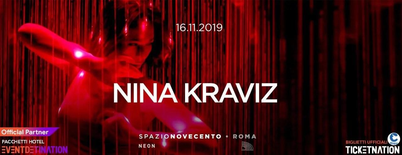 Nina Kraviz Spazio Novecento Roma – Sabato 16 11 2019