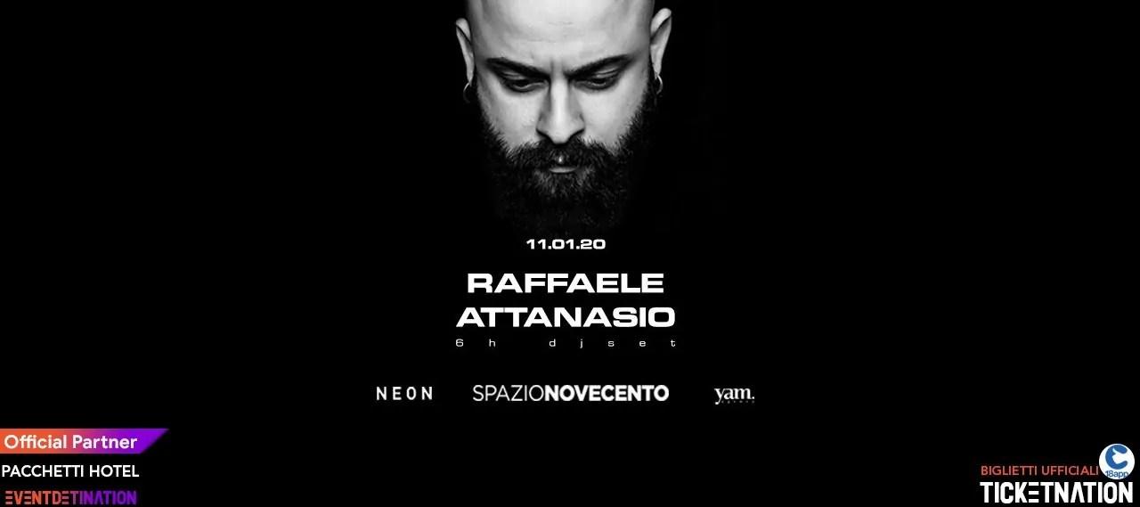Raffaele Attansio Spazio Novecento Roma – Sabato 11 01 2020