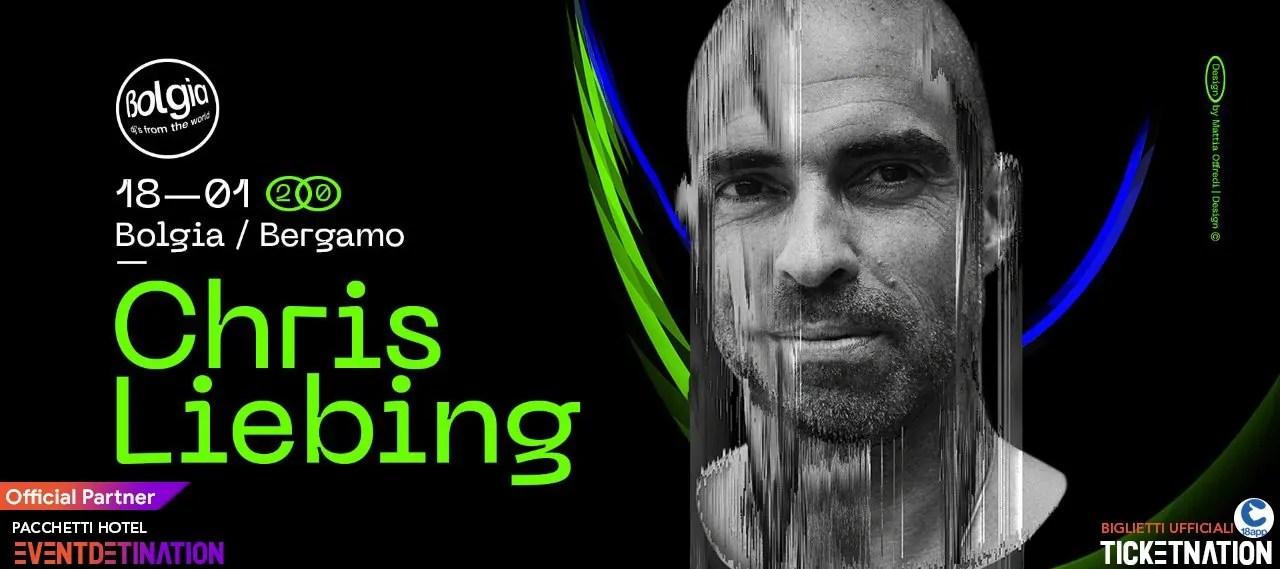 Chris Liebing al Bolgia Bergamo 18 01 2020