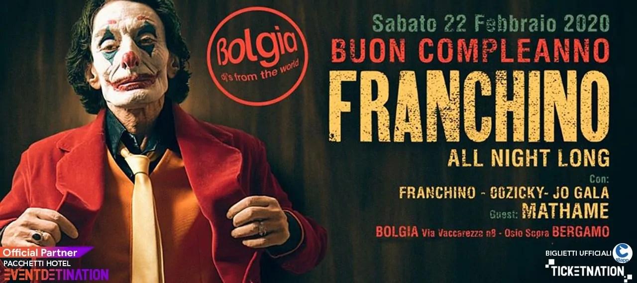 Franchino al Bolgia Bergamo 22 02 2020