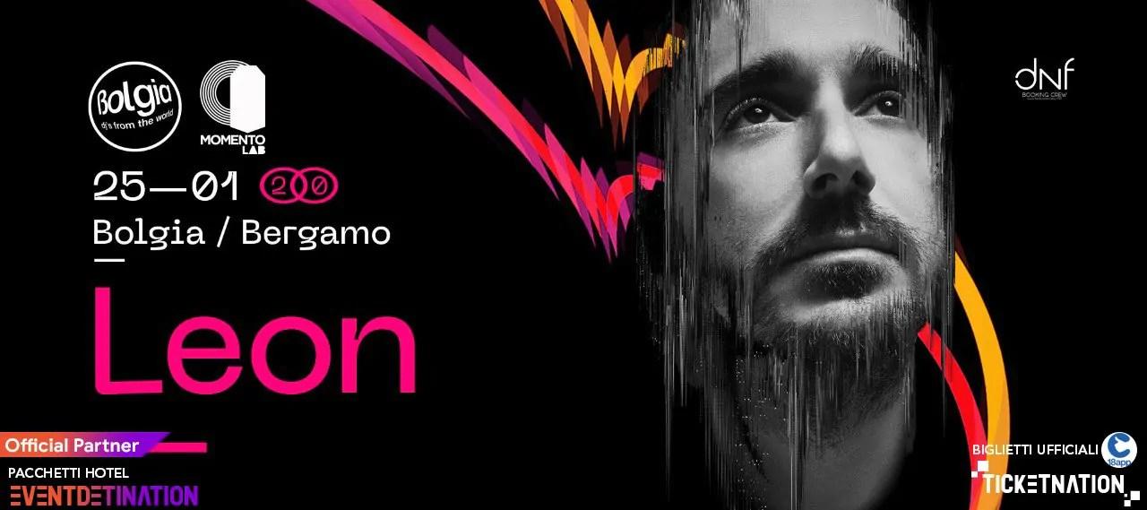 LEON al Bolgia Bergamo 25 01 2020