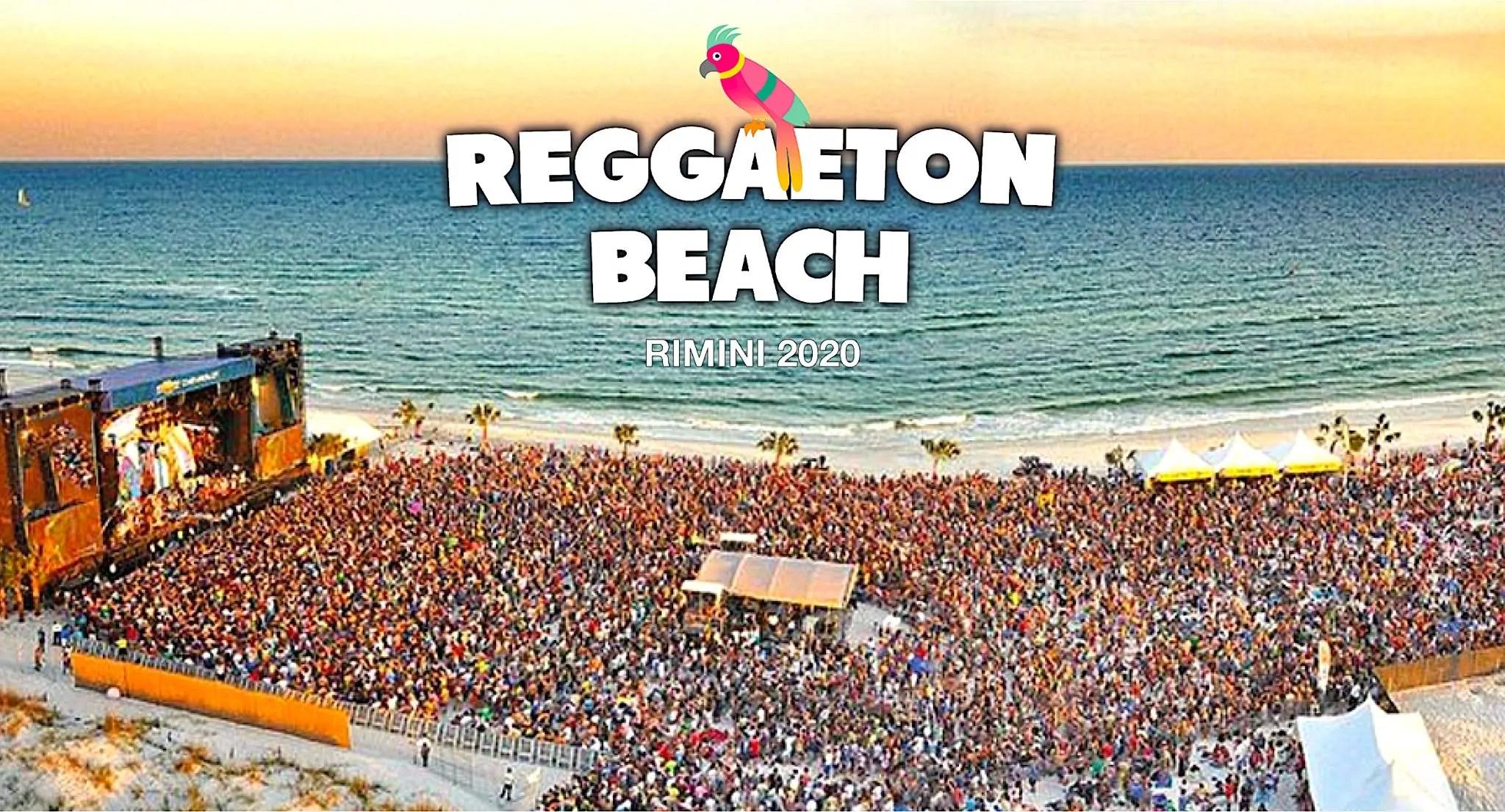 Reggaeton Beach Festival Rimini Beach Arena 2020 31 Luglio [ Evento Annullato ]