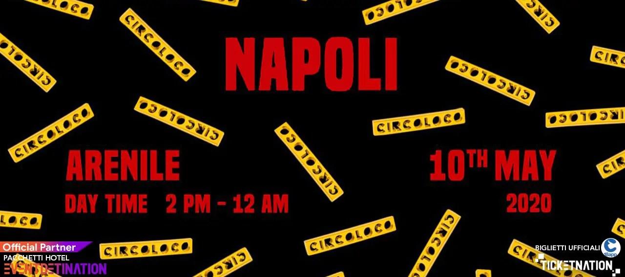 Circoloco Napoli Arenile Bagnoli International Talent – Domenica 10 Maggio 2020
