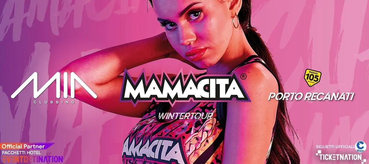 Mamacita al Mia Clubbing Porto Recanati il 07 03 2020