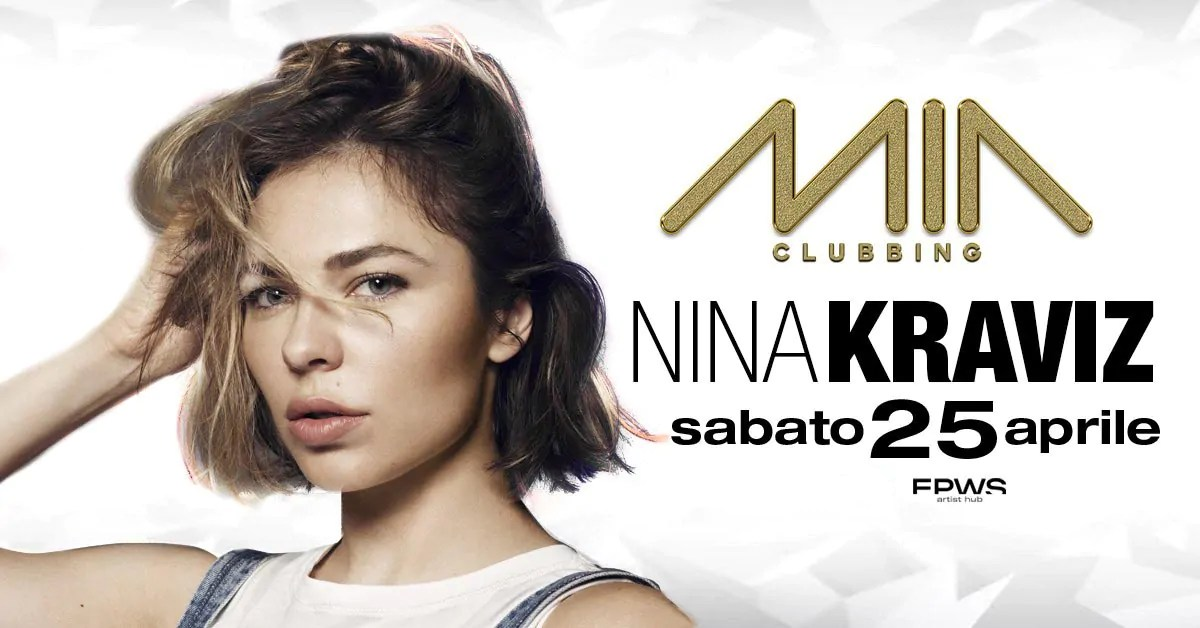 Nina Kraviz al Mia Clubbing Porto Recanati il 25 04 2020