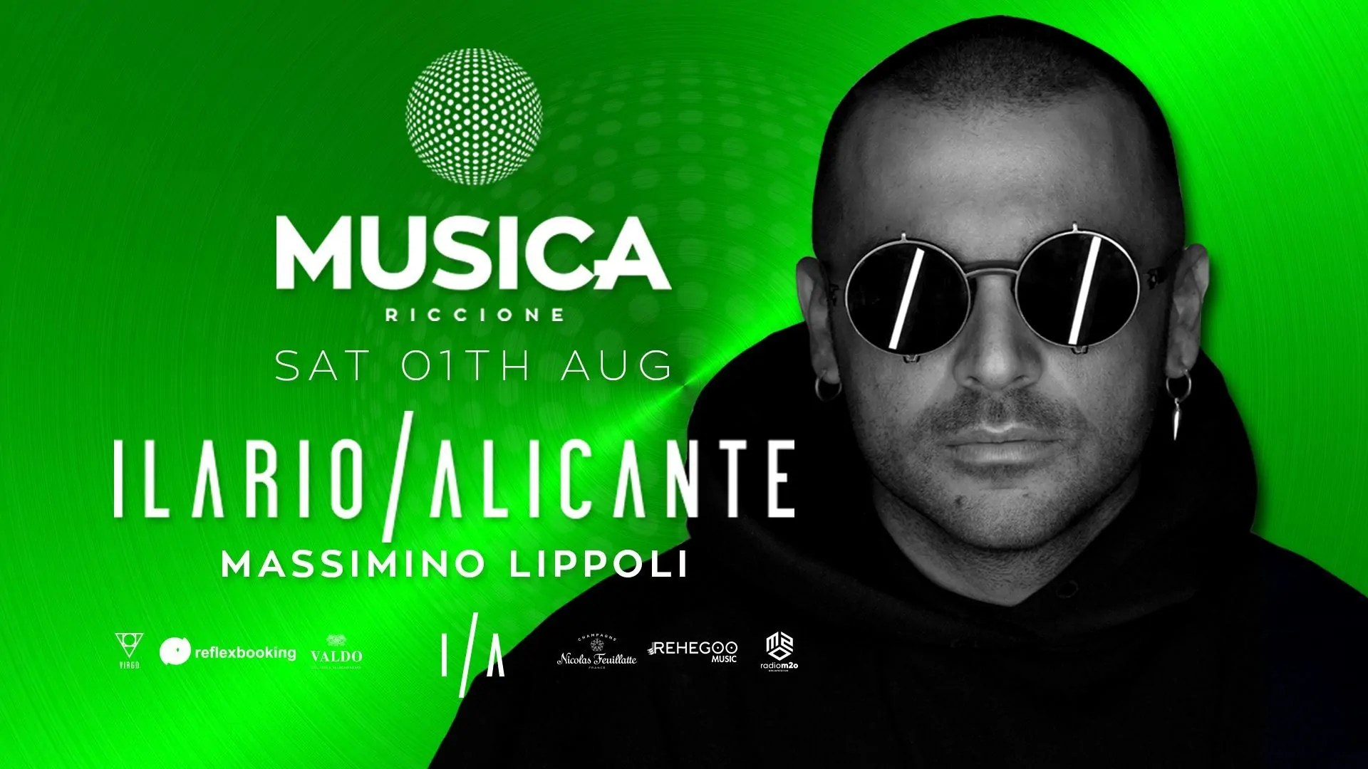 ILARIO ALICANTE MUSICA RICCION 01 AGOSTO 2020
