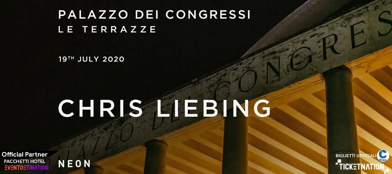 Chris Liebing Palazzo Dei Congressi Le Terraze 19 Luglio