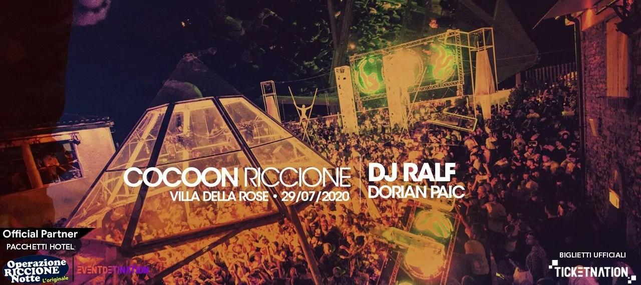 Dj Ralf Villa Delel Rose Cocoon Party 29 07 2020
