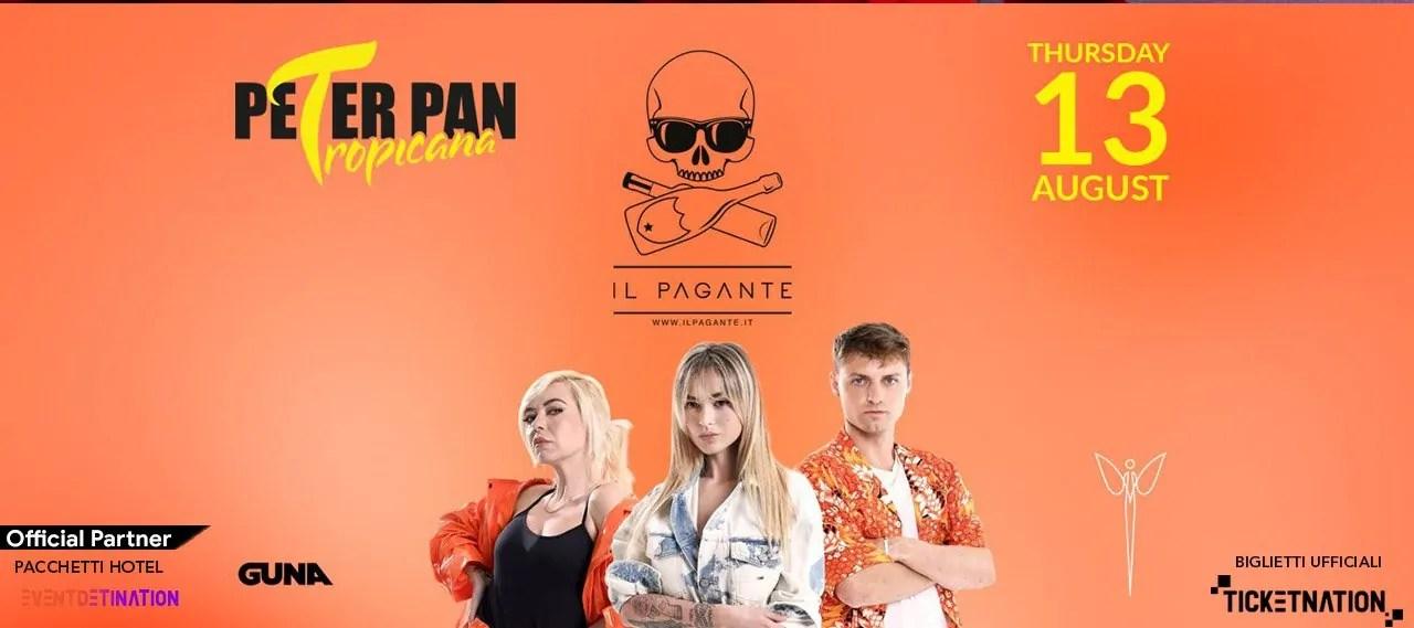 Il Pagante Peter Pan Riccione 13 08 2020