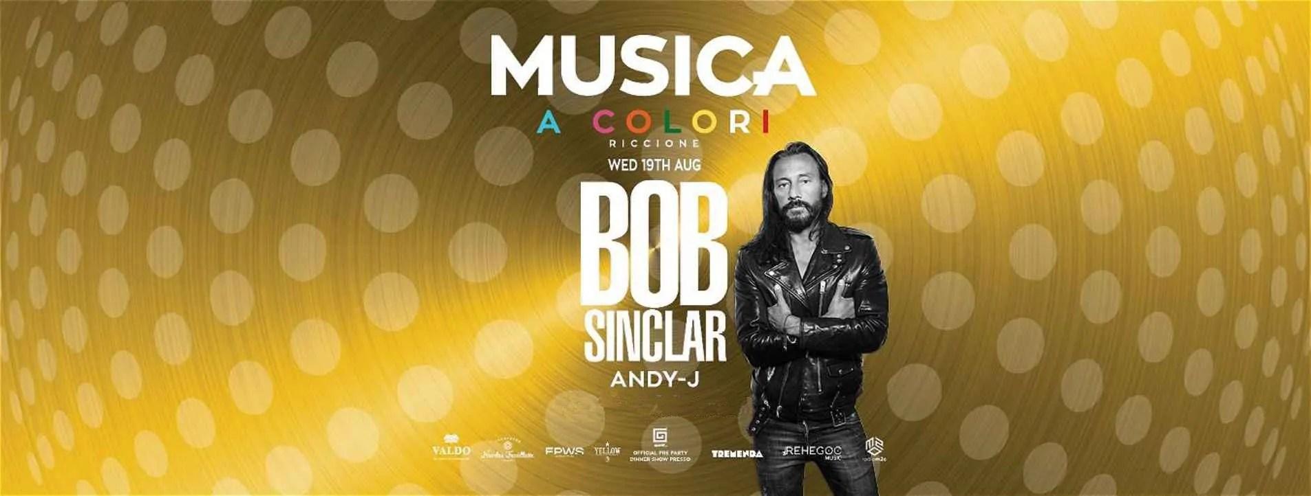 BOB SINCLAR MUSICA RICCIONE 19 08 2020