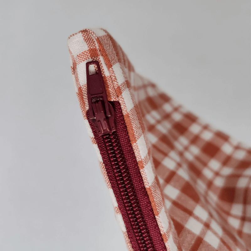 fermeture eclair rouge bordeaux