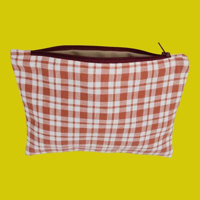 pochette mini carreaux cottagecore
