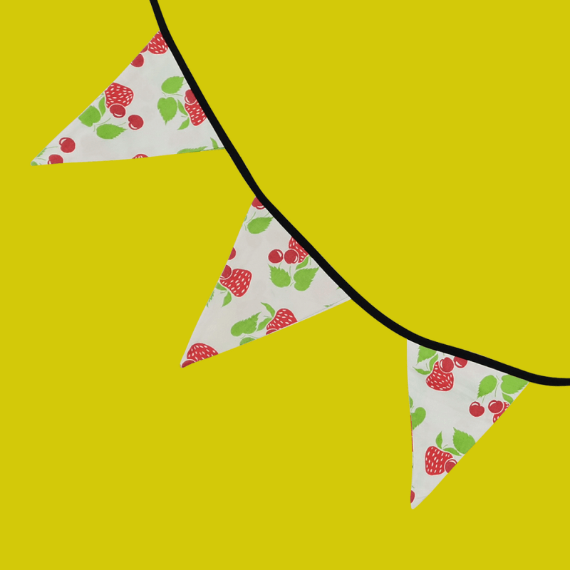 déco murale fruits kawaii