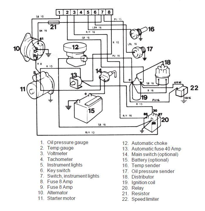 volvo penta wiring diagrams wiring diagram volvo tamd 40 parts 5 7 wiring  volvo diagram penta