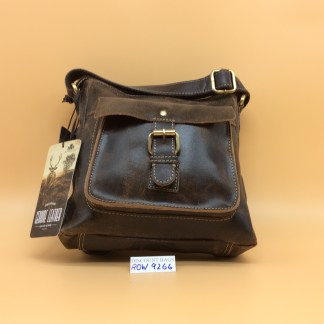Rowallan Leather Bag. 9266. Brown