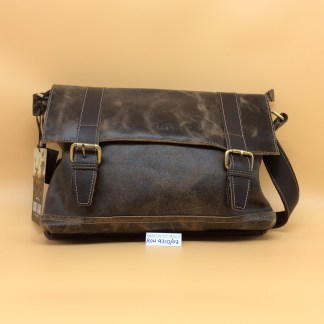 Rowallan Leather Bag 9310/02 Brushwood. Brown