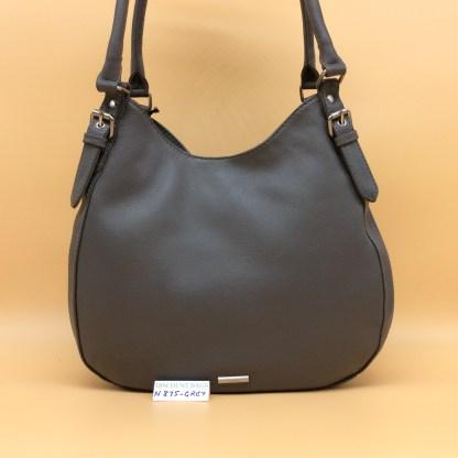 Nova Leather Bag. N875. Grey