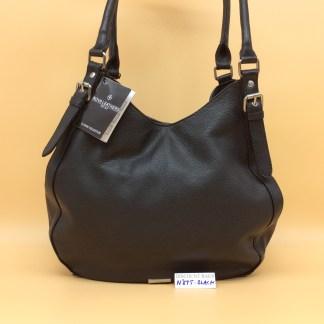 Nova Leather Bag. N875 Black