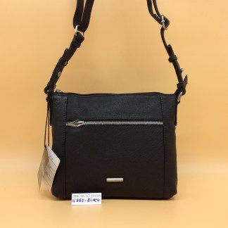 Nova Leather Bag N882. Black