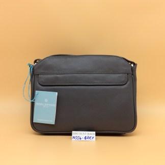 Nova Leather Bag. N554. Grey