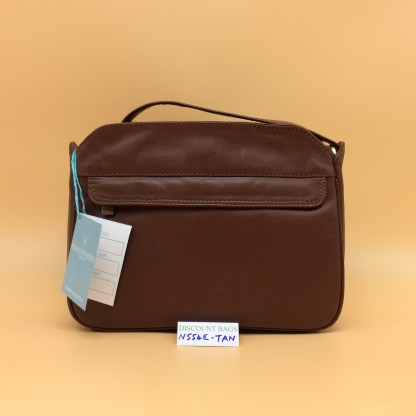 Nova Leather Bag. N554. Tan