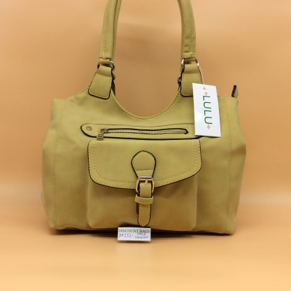 Lulu Fashion Bag. DK552. Pale Yellow