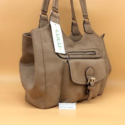 Lulu Fashion Bag. DK552. Beige