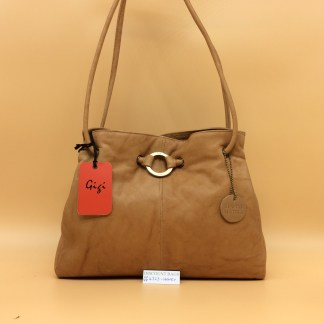 Gigi Leather Bag - 4323G. Honey