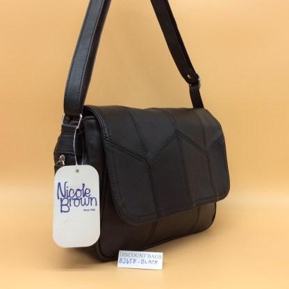 Classic Nicole Handbag 2548. Black