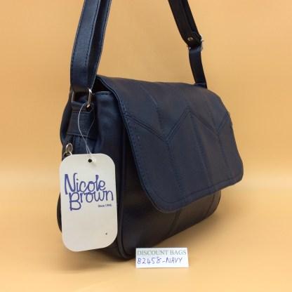 Classic Nicole Handbag. 2548 - Navy