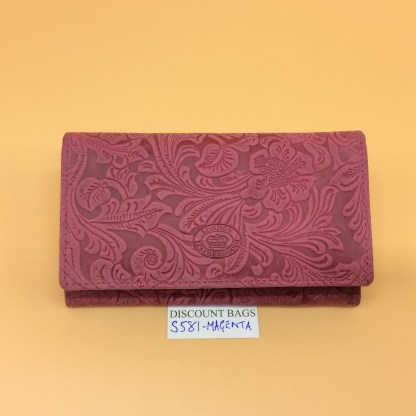 London Leather Goods.0581. Magenta