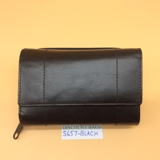 London Leather Goods. 0657. Black