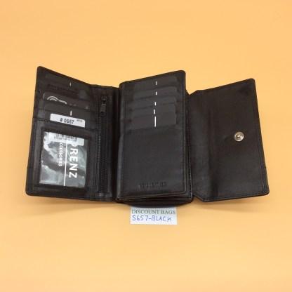 London Leather Goods. 0657. Black