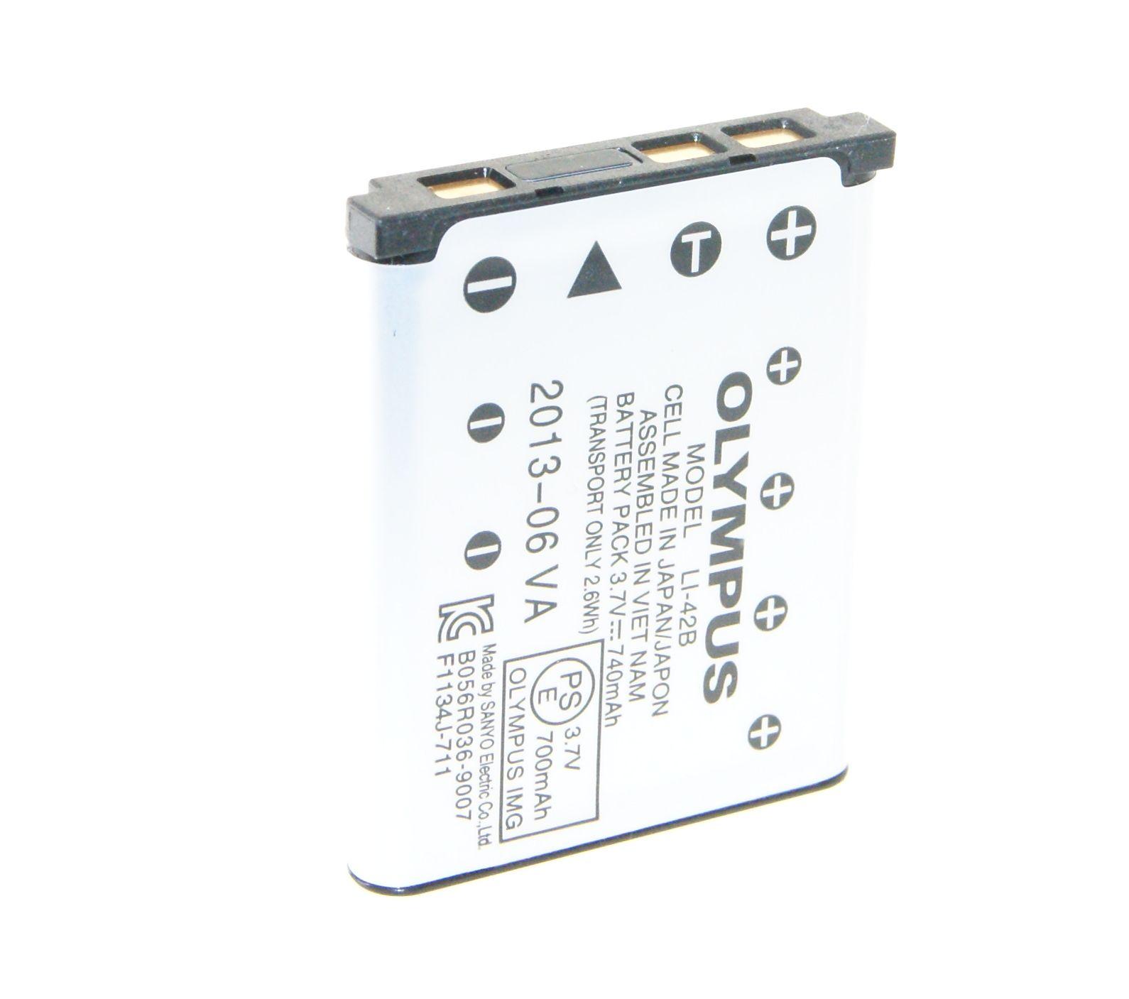 100 Genuine Olympus Li 42b Li 42b Rechargeable Battery 3